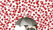 Dating Upside Down - Post - Val Day Guide - Cat_Umbrella_raining hearts